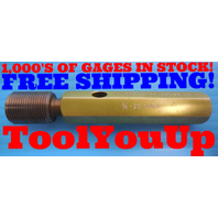 3/4 20 UNEF THREAD PLUG GAGE .75 GO ONLY P.D. = .7175 INSPECTION QUALITY TOOLS