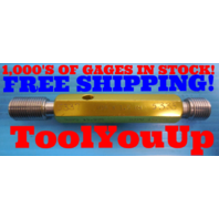 M16 X 1.5 6H METRIC THREAD PLUG GAGE 16.0 GO NO GO P.D.'S = 15.026 & 15.216 TOOL