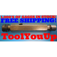 1/2 14 N.P.T.F. 6 STEP PIPE THREAD PLUG GAGE .5 NPTF INSPECTION QUALITY TOOLING