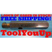 1/4 18 NPT L1 PIPE THREAD PLUG GAGE .25 N.P.T. L-1 QUALITY TOOLING INSPECTION