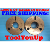 """1"""" 12 UNF 2A THREAD RING GAGE 1.000 GO NO GO P.D.'S = .9441 & .9382 INSPECTION"""