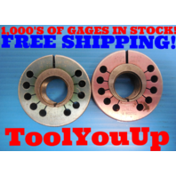 """BUDGET PRICE 1"""" 16 UNF 2A THREAD RING GAGE 1.0 GO NO GO P.D.'S = .9579 & .9529"""