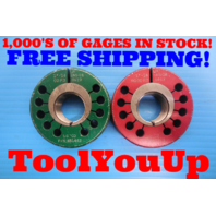 "1"" 14 UNS 2A LEFT HAND THREAD RING GAGE 1.00 GO NO GO P.D.'S = .9519 & .9463"