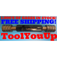 1.0339 64 UNS 2B THREAD PLUG GAGE CHROME GO NO GO P.D.'S = 1.0238 & 1.0273 TOOLS