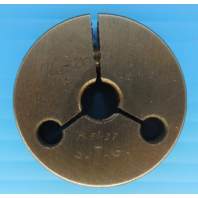 7/16 20 NS THREAD RING GAGE .4375 NO GO ONLY P.D. = .4069 INSPECTION TOOLING