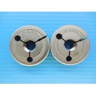3/8 18 NPSL PIPE THREAD RING GAGE .375 N.P.S.L. GO NO GO P.D.'S = .6409 & .6357