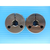 3/8 18 NPSF PIPE THREAD RING GAGE .375 N.P.S.F. GO NO GO P.D.'S = .6256 & .6211