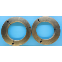 5 1/2 12 N 3 THREAD RING GAGE 5.5 GO NO GO P.D.'S = 5.4459 & 5.4399 INSPECTION