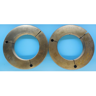 """5"""" 12 N 3 THREAD RING GAGE 5.0 GO NO GO P.D.'S = 4.9459 & 4.9400 INSPECTION TOOL"""