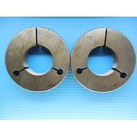 2 1/8 16 N 3 THREAD RING GAGE 2.125 GO NO GO P.D.'S = 2.0844 & 2.0801 INSPECTION