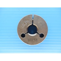1/2 14 NPSM PIPE THREAD RING GAGE .5 N.P.S.M. GO ONLY P.D. = .7764 INSPECTION