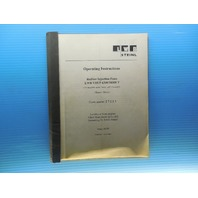 OPERATING INSTRUCTIONS RUBBER INJECTION PRESS LWB VREF 6300/30000 T USER'S GUIDE