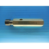 1/2 14 NPTF L1 PIPE THREAD PLUG GAGE .5 N.P.T.F. L-1 INSPECTION QUALITY TOOLING