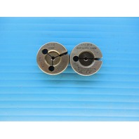 4 48 NF 3 GO NO GO THREAD RING GAGES #4 48.0 P.D.'S = .0985 & .0969 INSPECTION