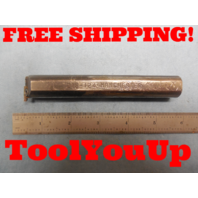 """MANCHESTER 218 - 124 GROOVING BORING BAR 5"""" LONG MACHINE SHOP TOOLING MACHINIST"""