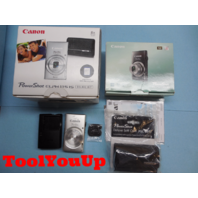 CANON POWER SHOT ELPH115IS CAMERA BATTERY CHARGER CASE AND STRAP ORIGINAL BOX
