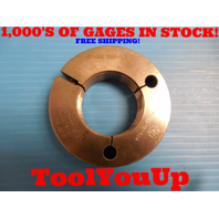 "2"" 16 UNJ 3A THREAD RING GAGE 2.00 NO GO ONLY P.D. = 1.9554 INSPECTION TOOLING"