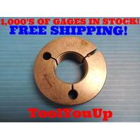 1 1/2 20 UN 2A THREAD RING GAGE 1.50 GO ONLY P.D. = 1.4661 INSPECTION TOOLING