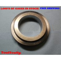 4.4360 SMOOTH PLAIN BORE RING GAGE 4 7/16  4.4375 - .0015 UNDERSIZE INSPECTION