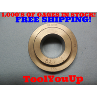 1.8145 CLASS XX SMOOTH PLAIN BORE RING GAGE 1 13/16 1.8125 + .0025 OVERSIZE