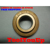 MASTER 1.9935 CLASS Y SMOOTH PLAIN BORE RING GAGE 2.000 - .0065 UNDERSIZE TOOL