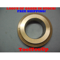 2 1/2 8 ANPT PLAIN TAPER RING GAGE FOR CALIBRATING SIX STEP PLUG GAGE TOOLING