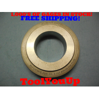 """2"""" 11 1/2 ANPT PLAIN TAPER RING GAGE FOR CALIBRATING SIX STEP PLUG GAGE TOOLING"""