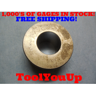1.814 CLASS X SMOOTH BORE RING GAGE 1.8125 - .0010 UNDERSIZE 13/16 TOOLING TOOLS