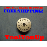 .1873 SMOOTH PLAIN BORE RING GAGE .18750 - .00020 UNDERSIZE 3/16 TOOL INSPECTION