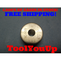 .3480 CLASS Z SMOOTH PLAIN BORE RING GAGE .34375 + .00425 OVERSIZE 11/32 TOOL