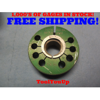 3/4 10 UNC 2A THREAD RING GAGE .750 GO ONLY  P.D. = .6832 TOOLING INSPECTION