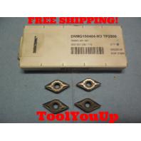 4 PCS NEW SECO DNMG 150404 M3 TP2500 431 2031301036 CARBIDE INSERTS CNC LATHE