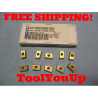10 PCS NEW SECO XOMX 120408 TR - ME08 423352001 / 813 CARBIDE INSERTS CNC LATHE