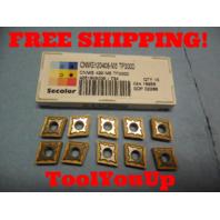 10 PCS NEW SECO CNMG 120408 M5 TP3000 4251808036 / 734 CARBIDE INSERTS CNC MILL