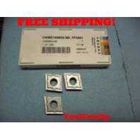 3 PCS NEW SECO CNMG 190608 M5 TP2501 642 1121 / 526 CARBIDE INSERTS CNC MILL