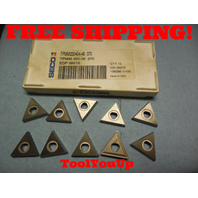 10 PCS NEW SECO TPMM 220404 46 370 431 EDP 09215 CARBIDE INSERTS CNC MILL LATHE