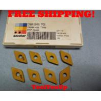 8 PCS NEW SECO DNMA 150408 TP05 432 EDP 00444 CARBIDE INSERTS CNC MILL CNC LATHE