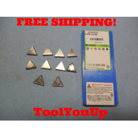 10 PCS NEW KYOCERA TPMR 322 HQ 8903167 CARBIDE INSERTS FOR STEEL TOOL CNC LATHE