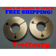 1.535 26 NS 2A THREAD RING GAGES 1.5350 GO NO GO P.D.'S = 1.5090 & 1.5040 TOOL