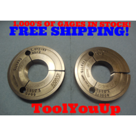 1.572 48 NS 2 THREAD RING GAGES 1.5720 GO NO GO P.D.'S = 1.5585 & 1.5540 TOOL