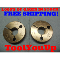 .796 36 NS 3 THREAD RING GAGES GO NO GO P.D.'S = .7780 & .7754 TOOL TOOLING