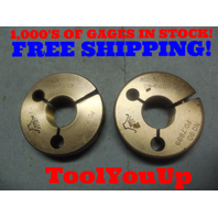 .812 36 NS 2 THREAD RING GAGES GO NO GO P.D.'S = .7934 & .7899 TOOL INSPECTION