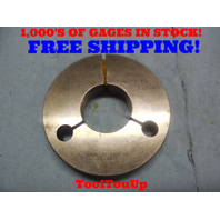 1.327 40 NS 3 THREAD RING GAGE NO GO ONLY P.D. = 1.3069 TOOLING INSPECTION TOOL