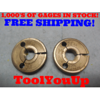 3/4 16 UNF 2A THREAD RING GAGES GO NO GO P.D.'S = .7079 & .7029 INSPECTION TOOL