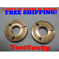 1.130 48 UNS 2A THREAD RING GAGES GO NO GO P.D.'S ARE 1.1155 & 1.1121 INSPECTION