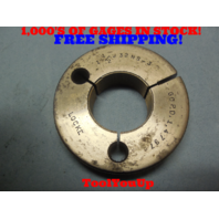 1 1/2 32 NS 3 THREAD RING GAGE 1.50 GO ONLY P.D. =  1.4797 TOOLING INSEPCTION