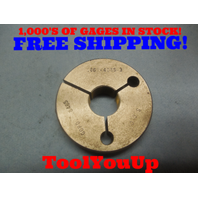 .860 48 NS 3 THREAD RING GAGE .86 GO ONLY P.D. = .8465 TOOLING INSPECTION TOOL