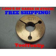 .953 10 NS DOUBLE LEAD THREAD RING GAGE .9530 GO ONLY P.D. = .9205 TOOLING