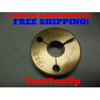.924 40 NS 2A THREAD RING GAGE .9240 GO ONLY P.D. = .9068 TOOLING INSPECTION