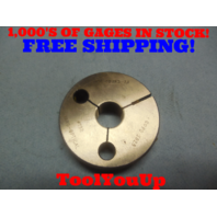 .600 40 UNS 2A THREAD RING GAGE .6 GO ONLY P.D. = .5828 TOOLING INSPECTION